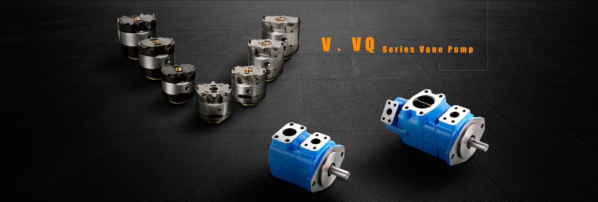 V, VQ Series Vane di-pump